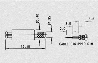 Digital Optical Audio Cable as well Ac Plug Dimensions also Female Sma Connector Dimensions moreover Rca To Coaxial Cable Connectors together with Connectors. on bnc connector wiring diagram